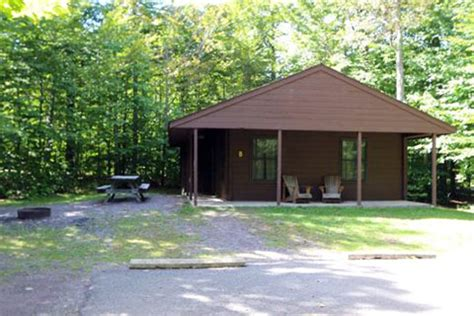 ricketts glen cabins lodging locations map