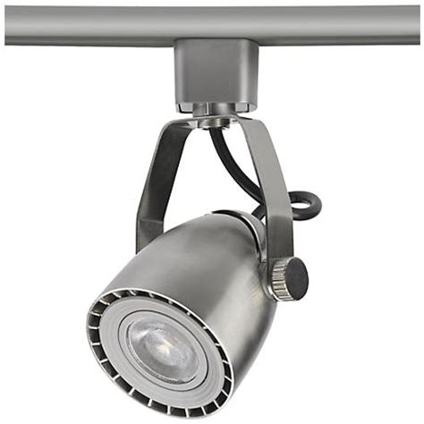 halo track lighting nickel bullet spot led track for halo single circuit