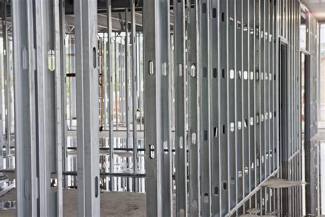 steel studs  wood studs  residential framing