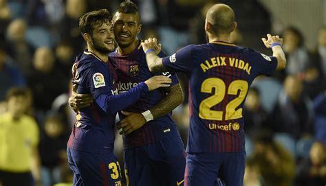 CDR-16 Barcelona 5 vs 0 Celta Vigo 11-01-2018 | Barcelona HD