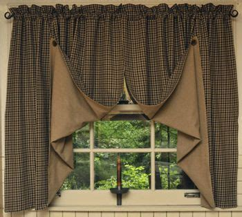 Best 25  Primitive curtains ideas on Pinterest   Half door