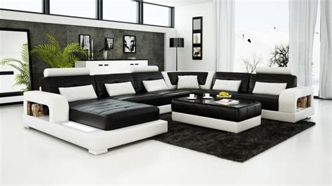 black and white leather sofa set contemporary black and white leather sofa set sleeper sofa