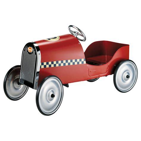 deco chambre fille vintage voiture à pédales vintage baghera maisons du monde