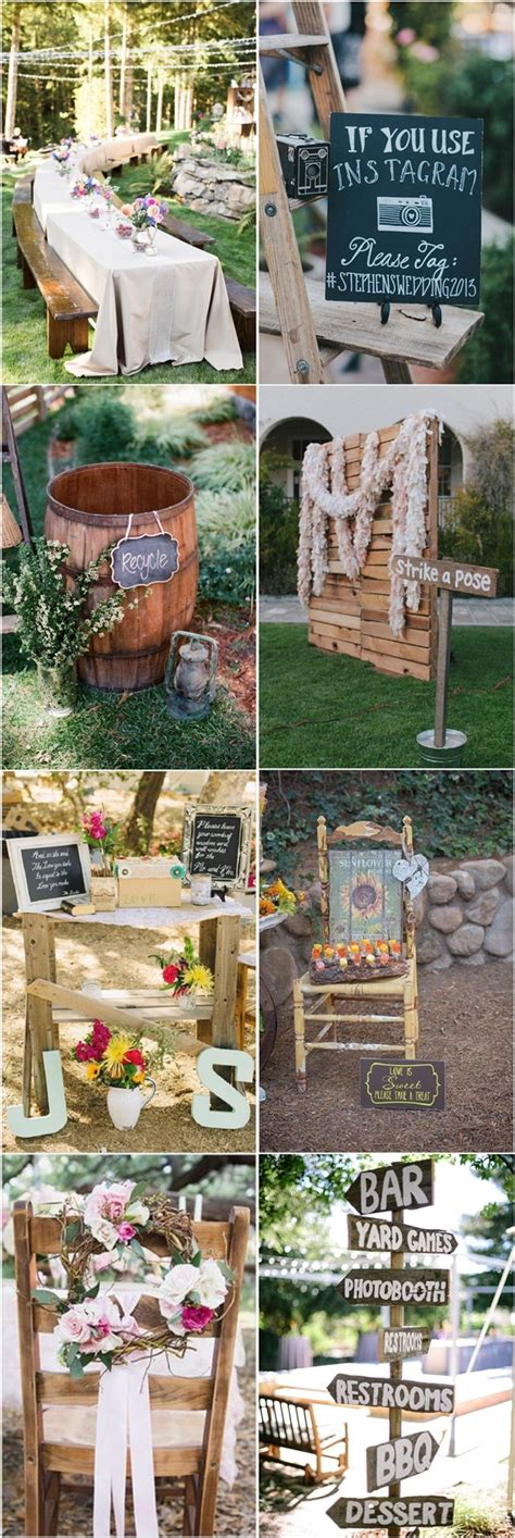 Country Backyard Wedding Ideas by 35 Rustic Backyard Wedding Decoration Ideas Deer Pearl
