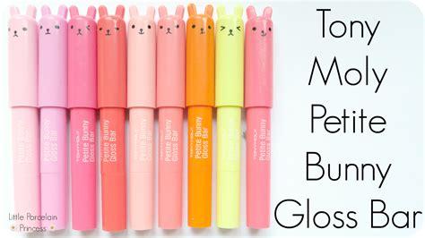 porcelain princess review tony moly bunny gloss bar