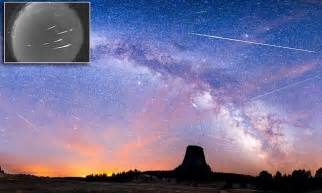 Best Time See Meteor Shower Tonight Picture