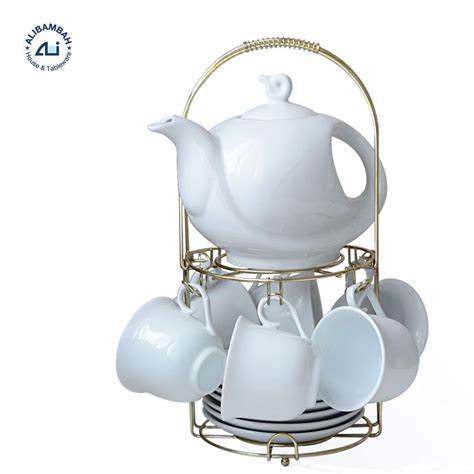 Cangkir Set Espresso Keramik jual alibambah teko cangkir set keramik 15 pcs alb q