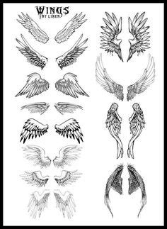 angel wings tattoo designs for men | Projects to Try | Tattoos, Tattoo designs, Wing tattoo designs