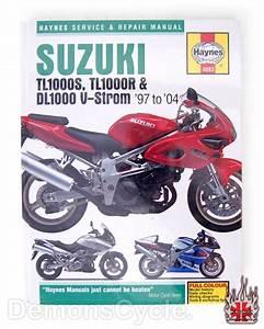 Suzuki Tl1000s    Tl1000r And Dl1000 V