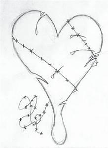 Easy Broken Heart Drawings | www.pixshark.com - Images ...