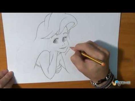 disegnare ariel la sirenetta youtube