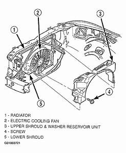 2001 Dodge Intrepid Cooling System Diagram