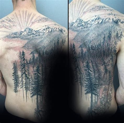 tree  tattoo designs  men wooden ink ideas