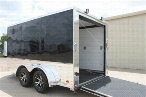 7X12 Motorcycle Trailer Custom Enclosed 2017 Models