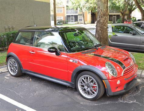 fs  mini cooper  red heavily modified rmw north american motoring