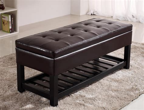 armed storage ottoman bench armed storage ottoman bench doherty house storage