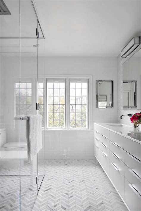 Bathroom White Tiles by Minimalist White Bathroom Designs To Fall In