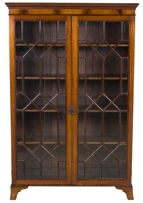 antique bookcase  doors english antique furniture