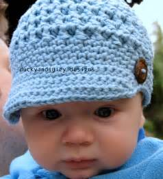 Baby Boy Crochet Hat Pattern