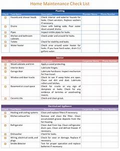 home maintenance checklist template search results With home repair checklist template