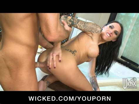 Big Tit Horny Brunette Pornstar Fucked Anal By Dick In