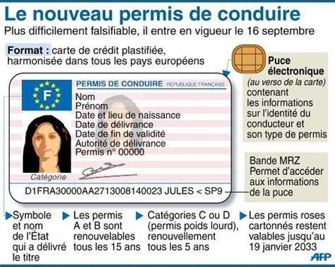 nouveau permis de conduire validité un nouveau permis s 233 curis 233 au format d une carte de cr 233 dit la croix
