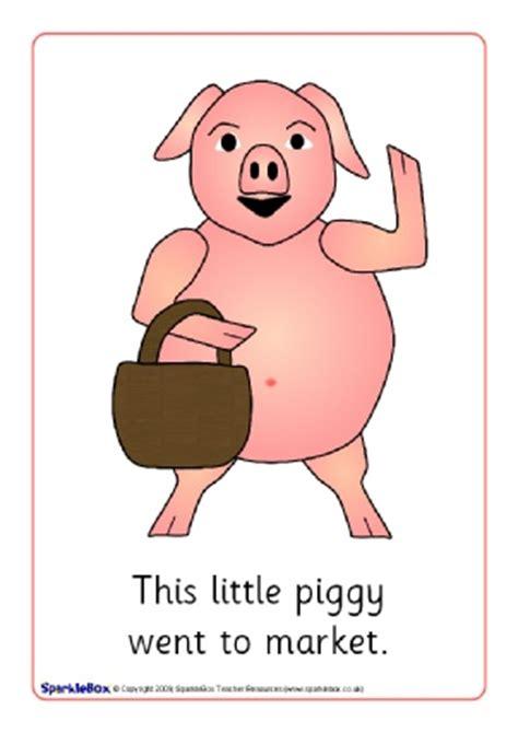 Little Piggy Nursery Rhyme by Animal Nursery Rhyme Teaching Resources Amp Printables