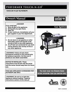 Download Free Pdf For Weber Performer Grill Manual