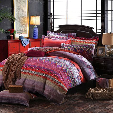 bohemian duvet covers boho chic bedding sets with more ease bedding with style 1755
