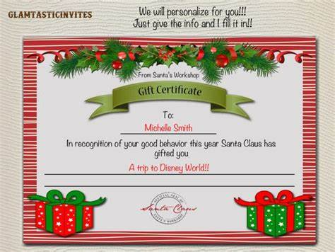 Gift Cards Give The Fine Present gift certificate template