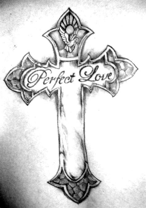 90 DIFFERENT STYLES OF MAKING A CROSS TATTOO.... - Godfather Style