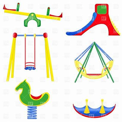 Playground Clipart Equipment Clip Swings Swing Cliparts