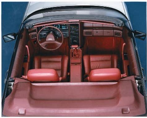 1987-1993 Cadillac Allante Styling - 1987-1993 Cadillac ...