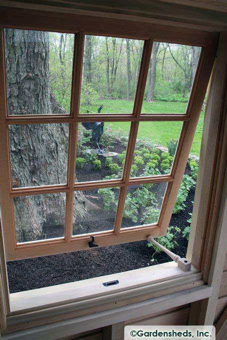 awning windows window  garden shed push  window