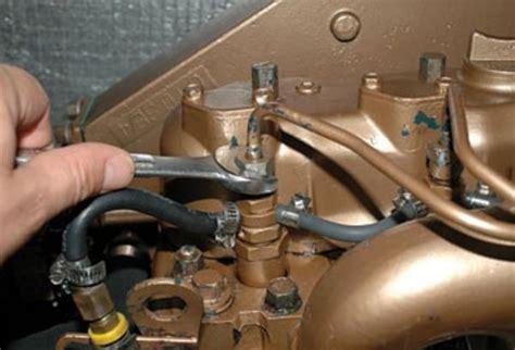 open  fuel   bleed  diesel fuel system
