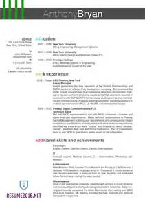 best resume format sles for 2016 best resume format 2016 which one to choose in 2016