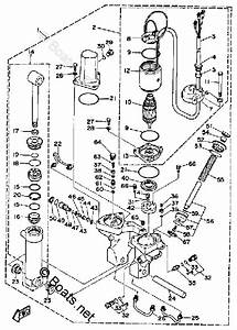 Yamaha Outboard Parts By Year 1989 Oem Parts Diagram For Power Trim  U0026 Tilt Assy