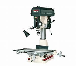 Jet 350017  Jmd-15 Milling  Drilling Machine
