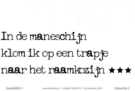 Kleurplaat Maneschijn by Muursticker Thema Babykamer Liedje Quot In De Maneschijn