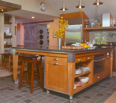 kitchen island on wheels with seating l shaped kitchen islands with seating 30 kitchen islands with tables a simple but clever combo