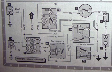 Relating Wiring Diagram Head Light Relay Saabcentral