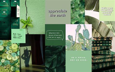 wallpaper green aesthetic in 2020 aesthetic desktop