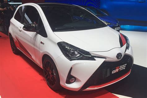 toyota yaris grmn hot hatch  pictures auto express