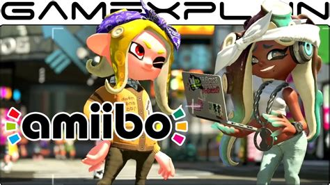 scanning  pearl marina amiibo  splatoon  selfies  gear youtube