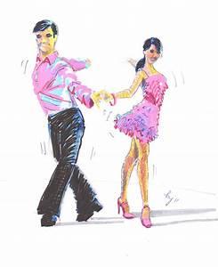 Strictly Dance Fun  Cha Cha Cha Drawing  Step 4