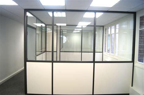 am駭agement bureaux beau cloison de bureau semi vitrée vkriieitiv com
