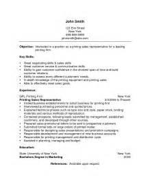 resume objective for inside sales rep inside sales resume