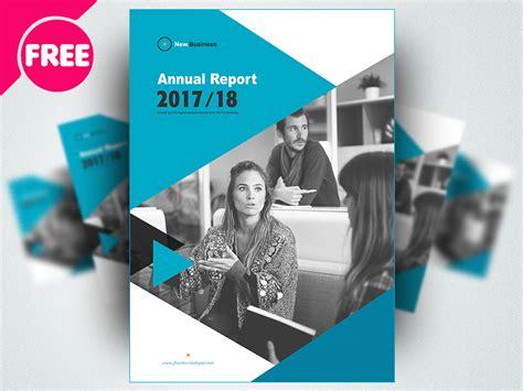 brochure annual report template psd