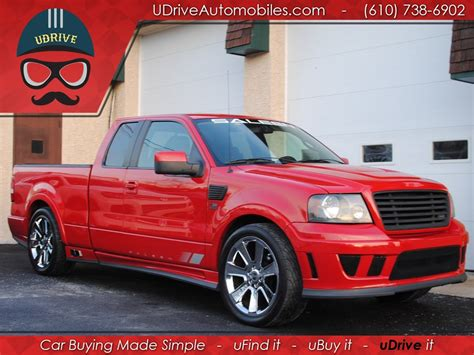Used Ford F150 Saleen 4 Door For Sale