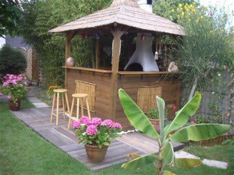 jardin de cuisine déco jardin terrasse exotique
